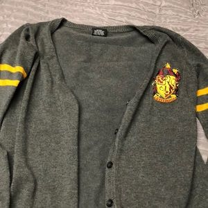 Hot topic Harry Potter Gryffindor cardigan 2xl
